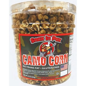 Snax In Pax Caramel Corn 22 oz.