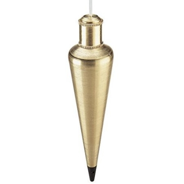 Empire Level 8 oz Brass Plumb Bob