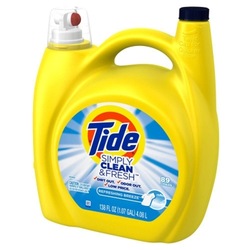 Tide Simply Clean Refreshing Breeze Laundry Detergent 138oz