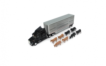 Ertl 1:32 Peterbilt 579 Semi w/ Animals