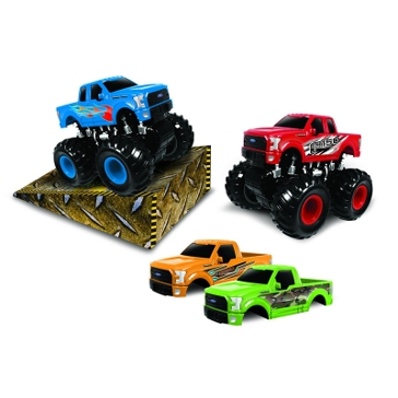Jam'N Products Monster Maniacs Off-Road Ford F-150 Set