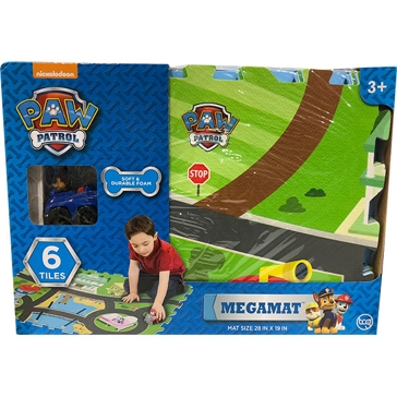 Jam'n Products, Inc. Paw Patrol Floor Mat with Vehicle