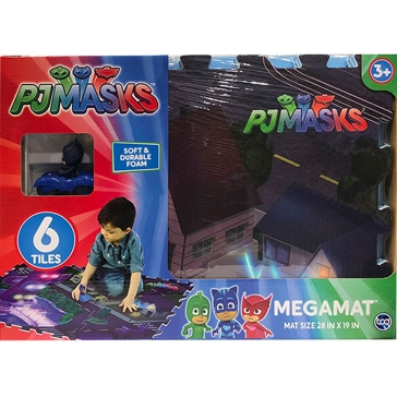 Jam'n Products, Inc. PJ Masks Floor Mat with Vehicle