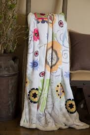 Carstens Wildflowers Throw