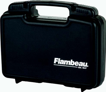 Flambeau Outdoors 6445SC Blackout Pistol Case 10""