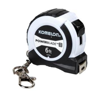 Komelon ABS Power Blade II Keychain Tape Measure 6 Feet