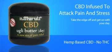 Naturulz CBD ugli butter Day Cream 4oz
