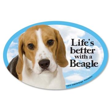 Prismatix Lifes Better With A Beagle Magnet