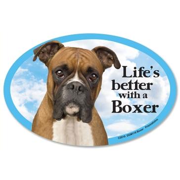 Prismatix Lifes Better With A Boxer Magnet