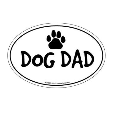 Prismatix Dog Dad Magnet