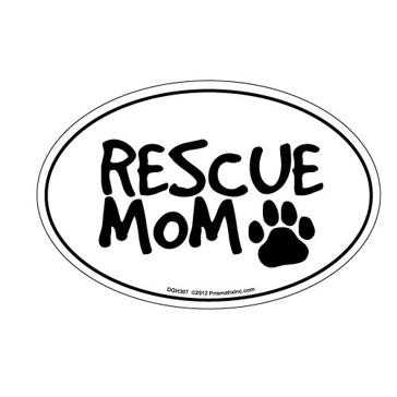 Prismatix Rescue Mom Magnet
