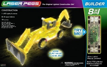 Laser Pegs Construction Kit