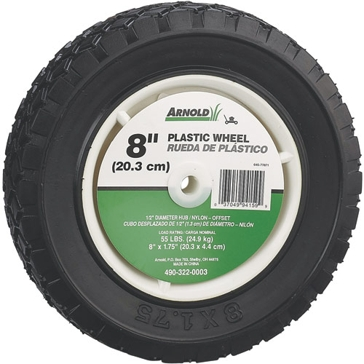 Arnold 8x1.75in Plastic Wheel 490-322-0003