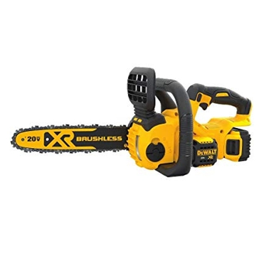 "Dewalt 20V Compact 12"" Cordless Chainsaw Kit DCCS620P1"