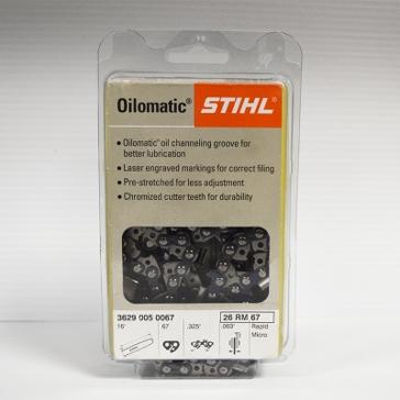 """Stihl Oilomatic 26RM67 16"""" Saw Chain"""