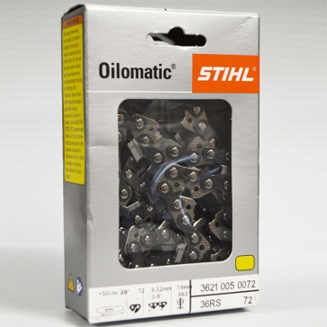 "Stihl Oilomatic 36RS72 20"" Saw Chain"
