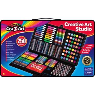 Cra-Z-Art Super Art Set 250 PCS