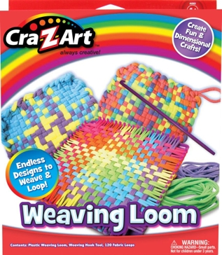 Cra-Z-Art Wonderful Weaves Weaving Loom