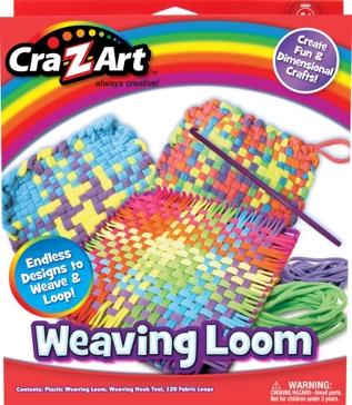 Cra-Z-Art Wonderful Weaves Weaving Loom