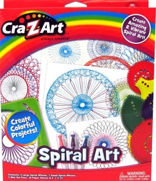 Cra-Z-Art Spiral Art
