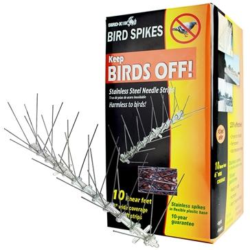 Bird-X Stainless Steel Bird Spike Kits
