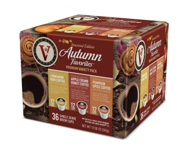 Victor Allen Autumn Blend Coffee- 36 Ct.
