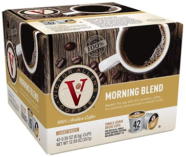 Victor Allen 42 K-Cups Morning Blend Single Serve Coffee