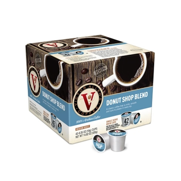 Victor Allen 42 K-Cups Donut Shop Single Serve Coffee