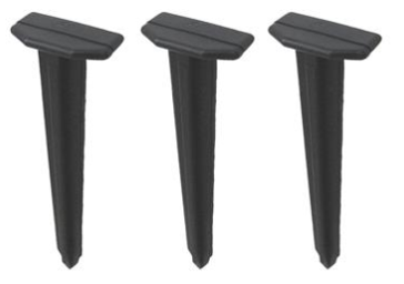 Heavy Duty Plastic Anchoring Stakes, 9.25 in.