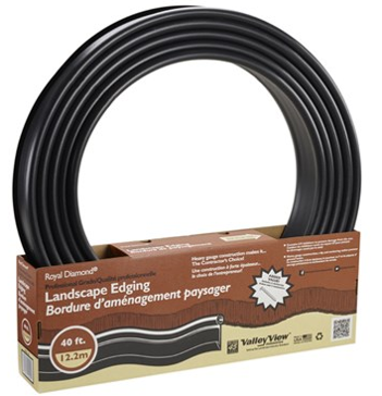 VALLEY VIEW 40' PRO LAWN EDGING BOXED 8 STK 2 CON