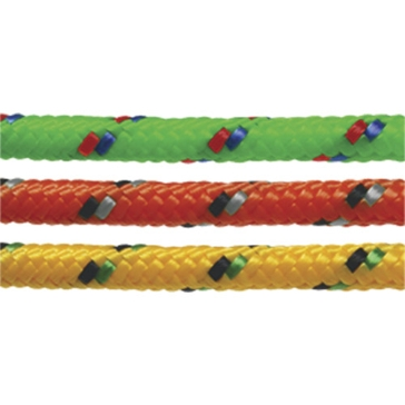 "SeaSense 3/8""x25' Multi-Purpose Braided Rope in Multi-Color 50012896"