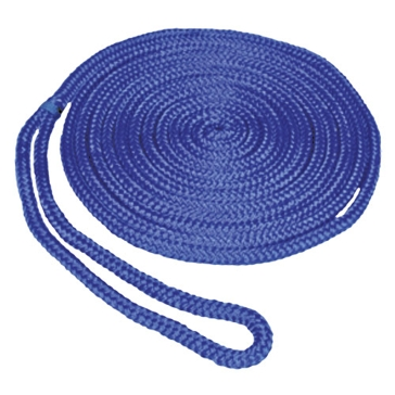 "SeaSense 3/8""x15' Double Braid MFP Dockline in Blue 50013271"