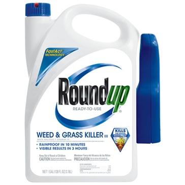 Roundup Weed & Grass Killer RTU 128oz