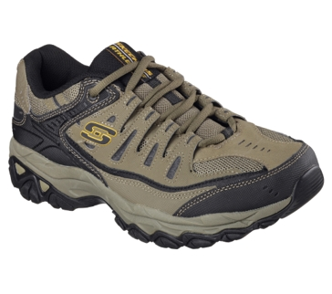 Skechers Men's After Burn Casual Shoe Pebble