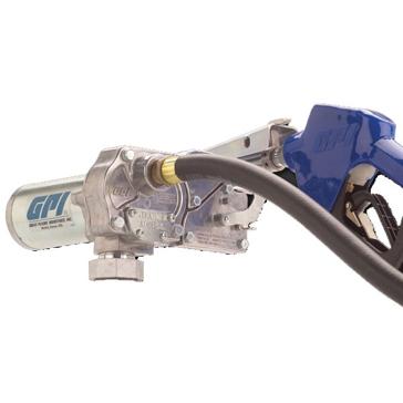 GPI 12V DC Fuel Pump w/Hose & Nozzle 110000-100