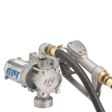 GPI 12V DC EZ-8 Fuel Pump w/Hose & Manual Nozzle 137100-01
