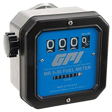 GPI MR5 30 Gallon Fuel Meter 126300-01
