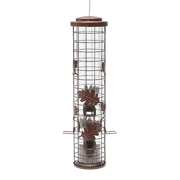 Perky-Pet Squirrel-Be-Gone Cylinder Wild Bird Feeder SBG100