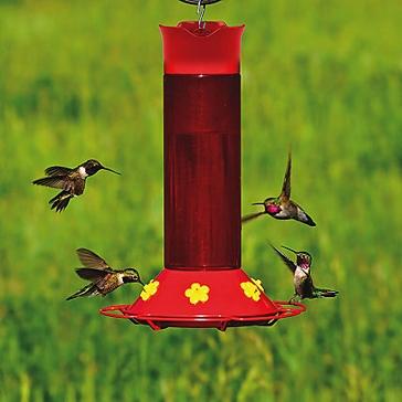 Perky-Pet Hummer's Favorite Plastic Hummingbird Feeder - 30 oz Nectar Capacity