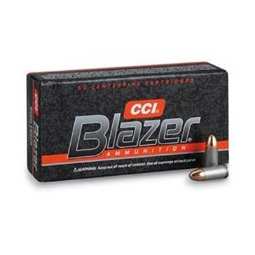 Blazer Handgun Ammunition 9mm 115 Grain