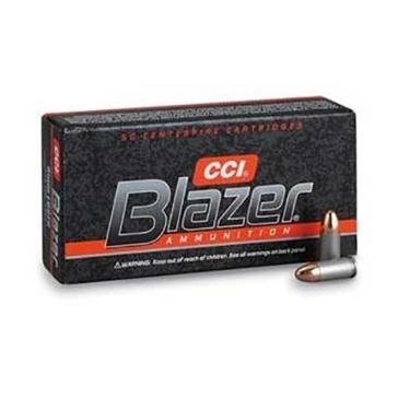 Blazer Handgun Ammunition 9mm 115 Grain