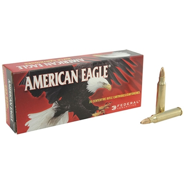 Federal American Eagle 223 Rem. JHP 50 Grain