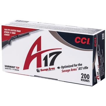 CCI Varmint Ammunition - 17 HMR A17