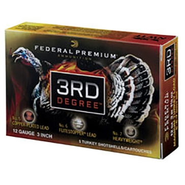 Federal Premium 3rd Degree Turkey Loads 12ga 3""