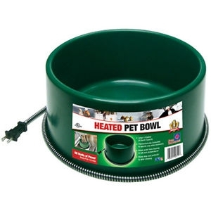 Farm Innovators 6 Quart Heated Pet Bowl