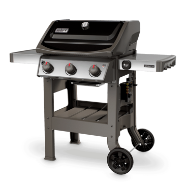 Weber Spirit II E-310 Three Burner Propane Gas Grill Black 45010001