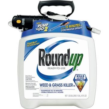 Roundup Weed & Grass Killer III Pump 'N Go Sprayer RTU 1.33Gal