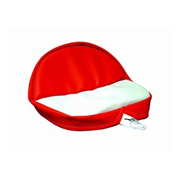 Concentric International Universal Pan Seat Red & White 503000RW