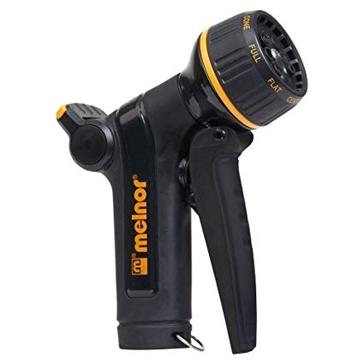 Melnor XT301 Adjustable 8-Pattern Front Trigger Hose Nozzle
