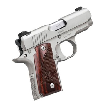 "Kimber Micro 9 9mm 3.15"" Stainless Handgun"